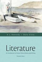 Literature: An Introduction to Fiction Poetry Drama and Writing 13th Edition