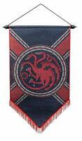 """Game of Thrones House Targaryen 23.6"""" x 39"""" Felt Fabric Banner"""