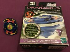 Beyblade Hasbro Dranzer S A-2 VGC With Box, Instructions, Ripcord + Launcher