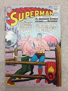 SUPERMAN #164  VG/FN   DC Comics  1963