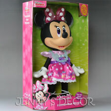 """Disney Mickey Mouse Clubhouse Toy Fashion Fun Minnie 14"""" Doll large Figure"""