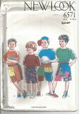 New Look Pattern 6571, Shorts, Child 4 - 10, OOP, Uncut