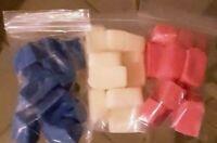 Wax Tart Melts Cubes 6 oz. Super Scented. Double Size. CHOOSE SCENT!