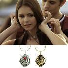 The Vampire Diaries Elena's Vervain Antique Locket Pendant Vintage Necklace EE