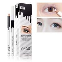 1X Eyeliner Pencil Augenkontur Highlight Stift Weiß Eyeliner Waterproof