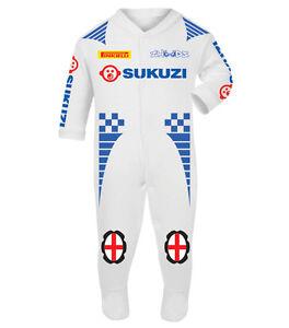 Sukuzi Baby Biker Race Sleep Suits