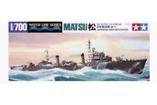Tamiya 31428 1/700 Japanese Navy Destroyer Matsu Waterline Series