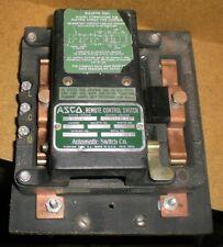 ASCO 920 Remote Control Switch 922 60 AMP 600 Volt