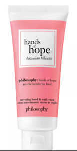 New Philosophy Hands Of Hope Hand Cream  Hawaiian Hibiscus Full Size 1oz!!