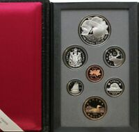 1996 ROYAL CANADIAN MINT DOUBLE DOLLAR PROOF SET