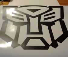 transformers optimus stickers black matte decal car truck 4x4