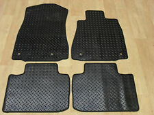 Lexus is300H 2013-on Fully Tailored RUBBER Car Mats in Black.