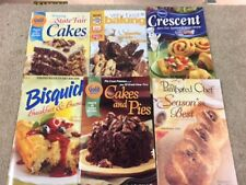 LOT OF (6) - Gold Medal Cakes & Pies - BISQUICK-PILLSBURY -NESTLE TOLL HOUSE 71p
