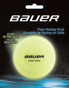 Bauer FLOOR Glow in the Dark (carded) Inline Puck Eishockey Zubehör