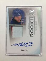 MICHAEL SAUER 2009-10 THE CUP AUTO ROOKIE PATCH 044/249 RANGERS❗️SEND OFFER❗️