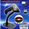 1D 2.4G Wireless&Wired Laser Barcode Scanner Reader Auto Sense W/Stand Fr Win7/8