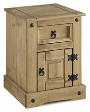 Seconique CORONA Petite Bedside in Distressed Waxed Pine - Delivery