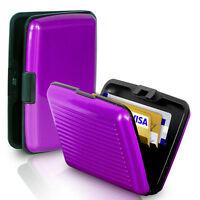 Waterproof Business ID Credit Card Holder Case Wallet Aluminum Metal Pocket Box