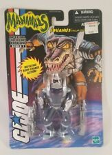 2000 GI Joe Cobra Manimals Iguanus v1 Factory Sealed Carded MOC