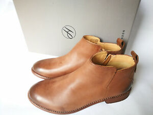 "*Hudson Ladies ""Revelin"" Tan Leather Ankle Boots, BNIB,Size 5 UK/38 EU-50% OFF!*"