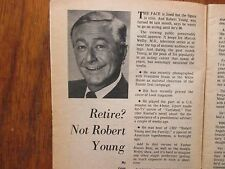 Mar-1971 Chicago Daily News TV News (ROBERT YOUNG/MARCUS WELBY/FATHER KNOWS BEST