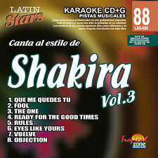 Karaoke Latin Stars 88 Shakira Vol.3