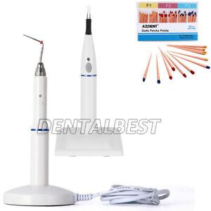 Dental Cordless Gutta Percha Obturation System Heated Pen Gutta Cutter Points