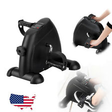 Exercise Pedal Bike LCD Arm Leg Pedal Stepper Cycle Indoor Gym Trainer Fitness