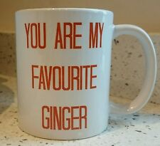 'you are my favourite ginger' mug team ginger cup ginger ninja gift