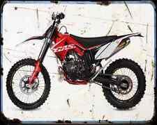 Gas Gas Ec 250 11 A4 Metal Sign Motorbike Vintage Aged
