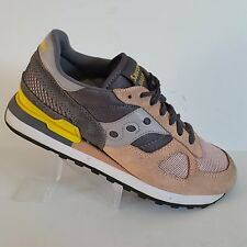 Saucony Shadow Original Peach Gray Running Shoes S1108 590 Women's Size 9