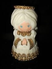 Vintage Hallmark Angel Wax Candle - Handcrafted in Japan