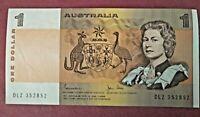 $1 Australian Notes Johnston and Stone aUNC