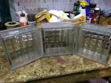 Antique Glass Architectural Blocks