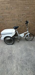 """TGA electric tricycle - White - 17"""" inch Frame -48 hr delivery"""