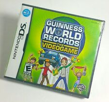 NEW Guinness World Records The VideoGame (Nintendo DS, 2008) Guiness