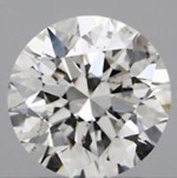 1. carat Round cut Loose Diamond  GIA I color SI2 clarity