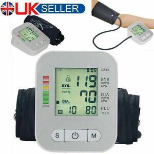 Digital Blood Pressure Monitor Upper Arm Automatic BP Machine With Large Cuff UK