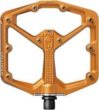 Crankbrothers Stamp 7 Large Flat Pedals - Orange