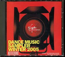 DANCE MUSIC SAMPLER WINTER 2005 - 9 TRACKS REMIXED - CD COMPILATION [838]