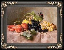 Fruit Still Life Miniature Dollhouse Doll House Picture