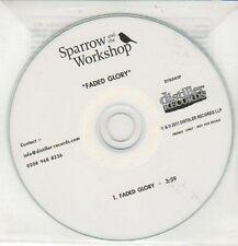 (DD167) Sparrow & The Workshop, Faded Glory - 2011 DJ CD