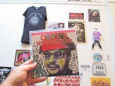 DEVO'S  WIPEOUTERS  7 INCH VINYL RECORD Bob & Mark Mothersbaugh, Casale,Mancell