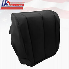 2004 Driver Bottom Leather Seat Cover Black Fits Nissan Murano S SE SL Sport