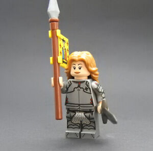 Custom Superheroes Joan of Arc on lego brand bricks