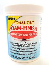 Beacon Foam-Tac Foam-Finish Finishing Compound -EPP EPO Depron Styrofoam BluCor