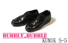 "KUMIK 1/6 Female Oxford Shoes S-5 For 12"" Hot Toys Phicen Figure SHIP FROM USA"