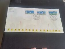 SINGAPORE 1987 SG 546548 SKYLINE   FIRST DAY COVER