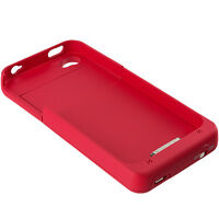 Red 2500mAh Backup External Battery Charger Case Cover for iPhone 4 4S 4G