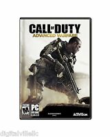 Call of Duty Advanced Warfare PC Brand New Factory Sealed fast Shipping COD